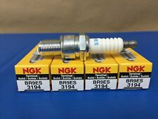 New NGK Spark Plugs (4 Count) No. BR9ES / 3194 Snowmobile ATV and Motorcycle