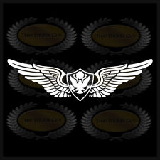 U.S. Army Aviation Badge Crew Man Sticker Chief Wings Decal Military