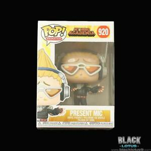 Funko Pop! Present Mic Hizashi My Hero Academia MHA Anime Pop IN STOCK 920