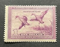 WTDstamps - #RW5 1938 - US Federal Duck Stamp - Mint OG NH