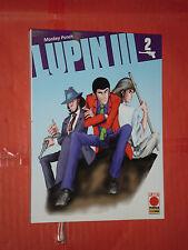 LUPIN III- N°2- nuova serie- 1° edizione DI:MONKEY PUNCH- MANGA PANINI COMICS-