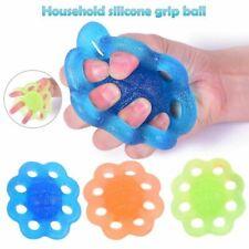 Silicone Grip Ball Rehabilitation Training Finger Palm Hand Strengthener Finger