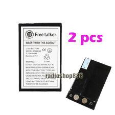 Two Pcs Walkie talkie watch Li-ion Battery 2-011 For Freetalker