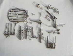 Piko H0 Ersatzteile Gestängeteile für Dampfloks BR 95 01, 01.5,38, 41, eloxiert