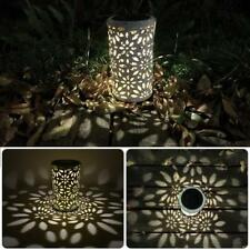 Antique Solar Lantern Indoor Outdoor Light Waterproof Garden LED Decor Lamp