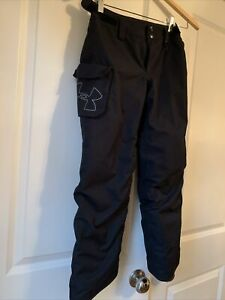 Under Armour Youth Small 8 Storm Chutes Insulated Snow Ski PantsBlack $99/Retail