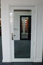 ALUMINIUM FRENCH DOOR, NEW 900 x 2100h, WHITE, IN STOCK