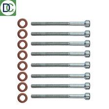 8 X MERCEDES ML 400 CDI Inyector Diesel Kit De Perno & Arandela Sello alemán FEBI OE