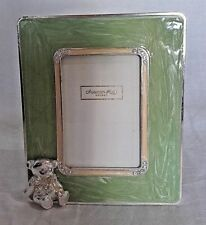 "Addison Ross Baby Photo Frame With Teddy Bear 2"" X 3"""