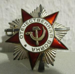 Orden UdSSR / Russland - Orden des Großen Vaterländischen Krieges II Klasse Nr.2