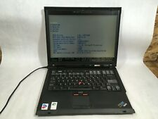 "IBM ThinkPad R51 Pentium M 1.60 GHz 1.25 GB Ram 15"" Boots- FT"