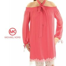 2e81d2d70aa MICHAEL Michael Kors Women €™s Off Shoulder Lace Hem Dress ( 165)