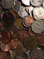 100 Gramm Restmünzen/Umlaufmünzen Bahamas