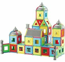 Magnet Tiles Sticks Building Magnetic Toy Blocks Educational Construction Diy