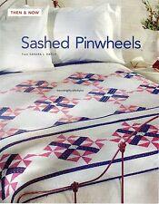 Sashed Pinwheels Quilt Pattern Pieced SH