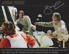 Shane Rimmer Signed 8x10 Photo - STAR WARS - Episode IV A New Hope - G215