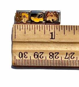 Scooby Doo Shaggy Daffy Duck Wile E Coyote Italian Charm Modular Bracelet Links