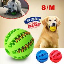 Puppy Pet Rubber Dental Clean Healthy Treat Teeth Chew Ball Toy Gum Bite Dog