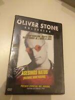 dvd   Asesinos natos de oliver stone  (nuevo   precintado)