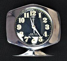 réveil mécanique vintage chromé - Space Age Alarm Clock  1960