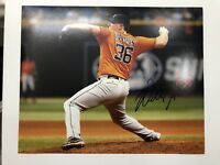Houston Astros Will Harris Signed Authgraphed 8x10 Photo B