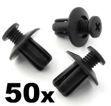 50x Mazda Plastic Trim Clips Scrivets- For wing & wheel arch linings mudguards