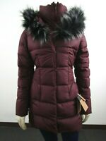 NWT Womens The North Face TNF Fur HD Down Parkina Parka Warm Winter Jacket - Red