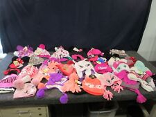 29 Girls Youth Toddle Disney Monster High Gloves Hats Shopkins Minnie Bulk Lot