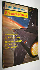 THE MAGAZINE OF FANTASY AND SCIENCE FICTION - AUGUST 1965 - EN INGLES