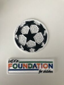 Uefa Champions League 21/22 Football Shirt Patch Badge Set.