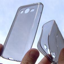custodia in silicone COVER per Samsung Galaxy Ace 4 LTE G357 fumè TRASP antiurto