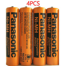 4 Pack Ni-MH 700mAh AAA Rechargeable Battery for Panasonic Cordless Home Phone