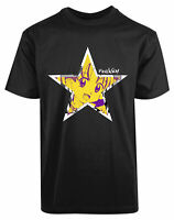 Funneh New Men's Shirt Star Funny Cute Face Humor Personalized Short Sleeves Tee