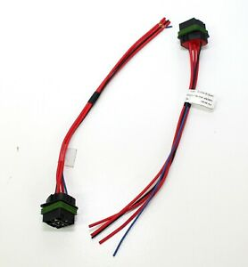 """Pair Of New HELLA H84709001 Iso Weatherproof Relay Connector with 12"""" Leads"""