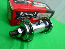Vintage NOS Raleigh Phillips Bicycle 32HOLES Front Hub Large Spindle NEW IN BOX