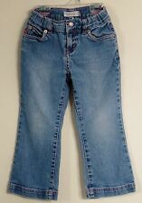 LEVI'S Girl Size 4T Blue Denim Front Zipper Adjustable Waist Jeans