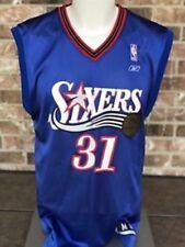 "67cd6a389f3 NBA Vintage Philadelphia 76ers Glenn ""Big Dog"" Robinson #31 Reebok Jersey M  NEW"