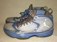 Men's Size 9 2011 Nike AIR JORDAN 2012 UNIVERSITY UNC BLUE Sneakers 484654-400