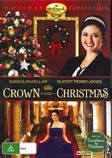CROWN FOR CHRISTMAS  Danica McKellar Rupert Penry-Jones  Romance ALL REGION DVD