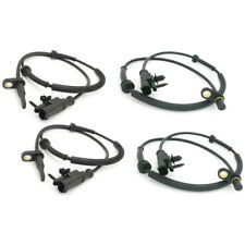 4X FRONT & REAR ABS WHEEL SPEED SENSOR FOR SMART FORFOUR MFA217x2+A218x2G2