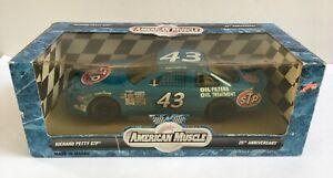 Ertl 1996 Nascar #43 STP Bobby Hamiliton Petty Blue Pontiac 25th Anniversary
