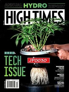 High Times Magazine March 2021, Annual Hydro Report, Brand New/Sealed