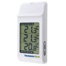 DIGITAL MAX MIN GREENHOUSE THERMOMETER GARDEN INDOOR OUTDOOR WALL ROOM - IN-024