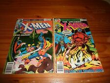 THE UNCANNY X-MEN Lot of 2 #115 116 Complete VG