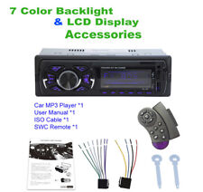 Hands-free calls Bluetooth Vintage Car Radio Mp3 Player Support Usb / Sd / Mmc(Fits: Case)