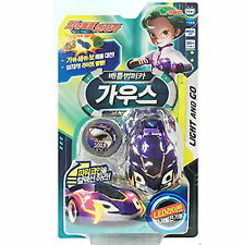Power Battle Watch Car Gaus Battle Bumper Light & Go Korea TV Toy Action Figure
