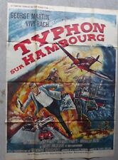 Poster 120X160 Typhoon on Hamburg GEORGE MARTIN VIVA BACH