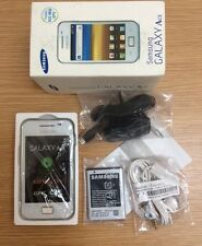 Samsung Galaxy Ace GT-S5830i Sim Free Unlocked White Android Smartphone Warranty