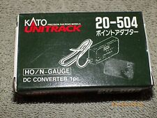 Kato 20-504 N gauge DC converter  w/instructions in OB