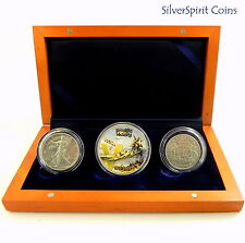 2005 WORLD WAR II ANNIVERSARY PEACE IN THE PACIFIC Silver Coin Set Collection